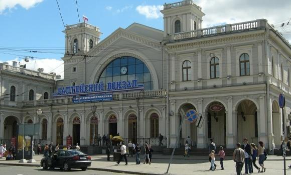 ЖД Вокзал Балтийский вокзал